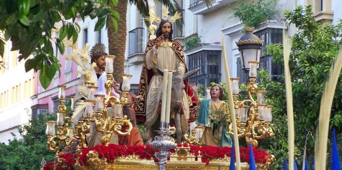 Borriquita Cristo Rey
